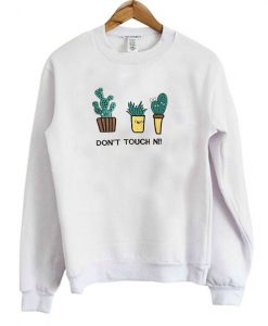 DON`T TOUCH NI SWEATSHIRT ZNF08