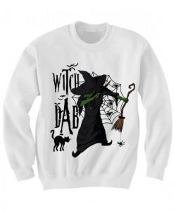 Dabbin Witch Dab Hallowe Senweatshirt ZNF08