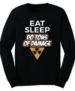 Damage Sweatshirt ZNF08