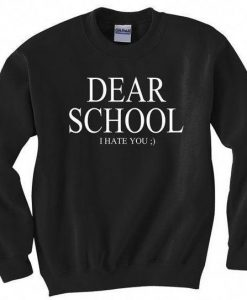 Dear School Sweatshirt ZNF08