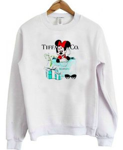 Disney Minnie Mouse Tiffany & CO sweatshirt ZNF08