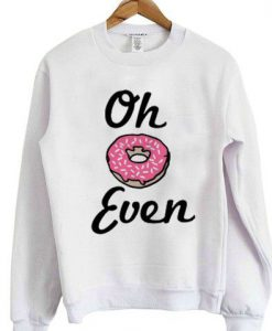 Donut Even Sweatshirt ZNF08