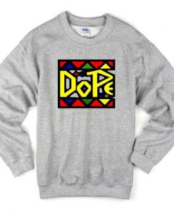 Dope Colour Sweatshirt ZNF08
