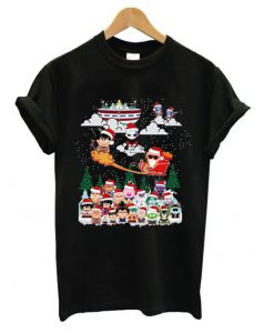 Dragon ball chibi Christmas T shirt ZNF08