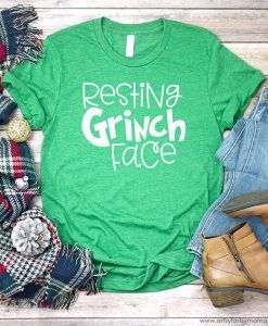 Grinch Face Shirt ZNF08