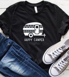 HAPPY CAMPER TSHIRT ZNF08