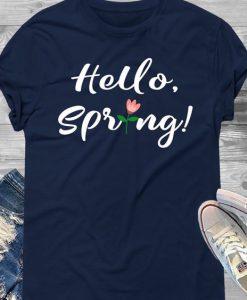 Hello Spring TSHIRT ZNF08