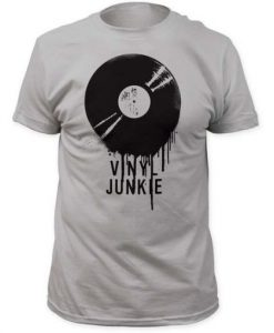 Impact Originals Vinyl Junkie T-Shirt ZNF08