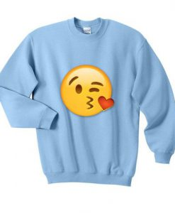cute emoji sweatshirt ZNF08
