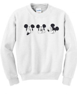 cute mickey mouse sweatshirt ZNF08
