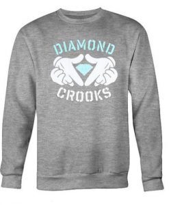 diamond crooks sweatshirt ZNF08